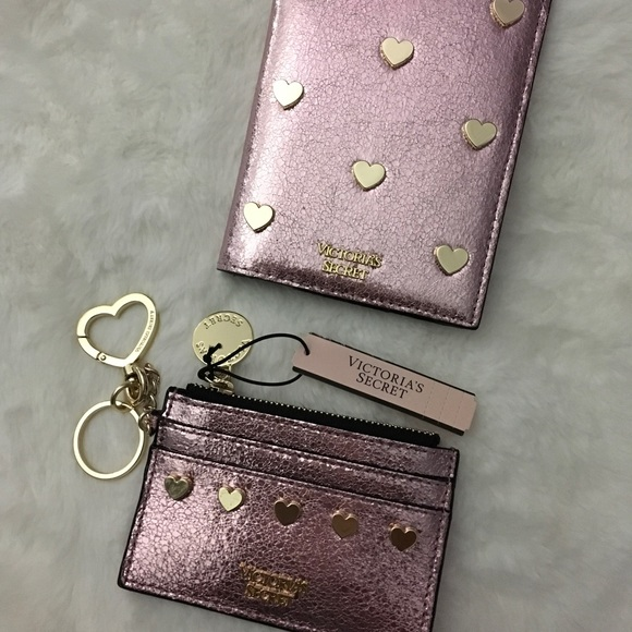 New VICTORIA'S SECRET Passport Cover Case Travel Wallet Perfect Gift
